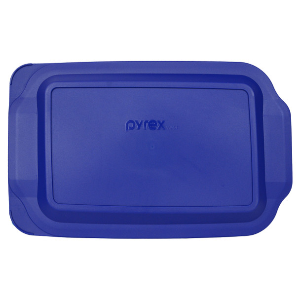 Pyrex 233-PC Blue Lagoon Rectangle Plastic Food Storage Replacement Lid