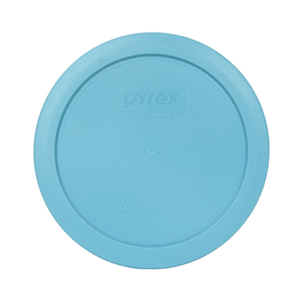 Pyrex 7201-PC Surf Blue 4 Cup Round Plastic Replacement Lid