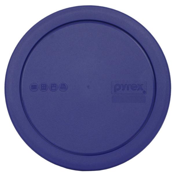 Pyrex 322-PC Blue 1qt, 950mL Round Plastic Replacement Lid
