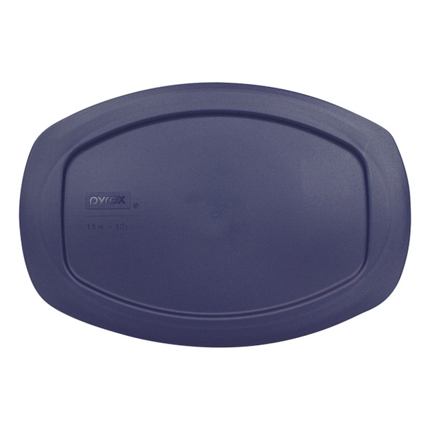 Pyrex Easy Grab C-702-PC Blue Replacement Lid for 1.3qt Glass Dish