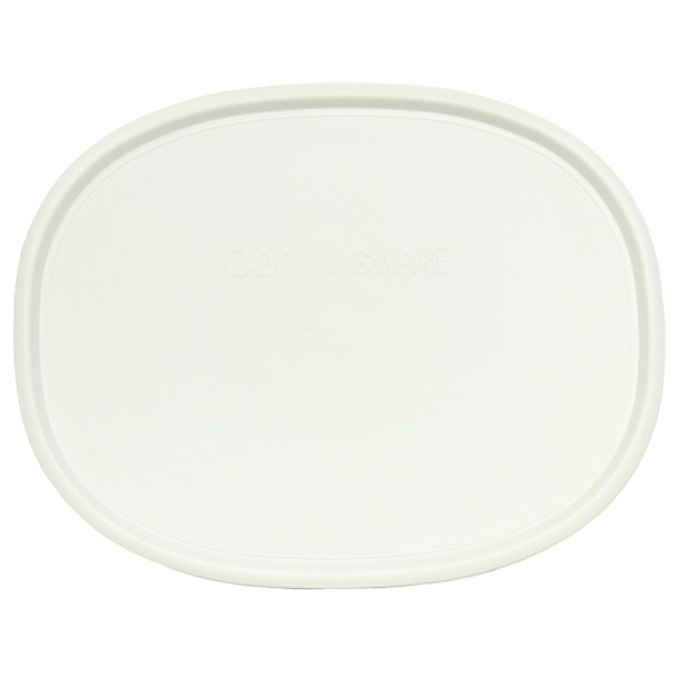 Corningware F-2-PC French White 1.5qt/2.5qt Plastic Lid for Shallow Baking Dish