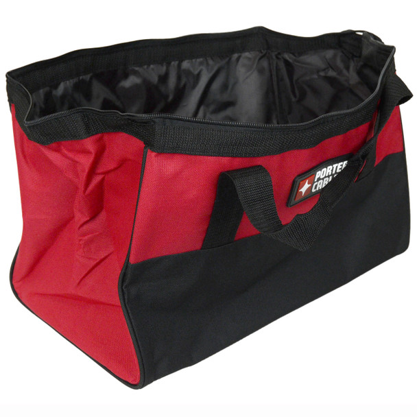 "Porter Cable 16"" x 10"" x 13"" Nylon Contractor Tool Bag"
