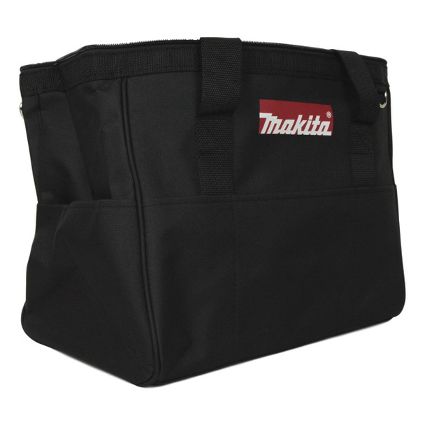"Makita 14"" x 9"" x 12""  Canvas Tool Bag with Shoulder Strap"