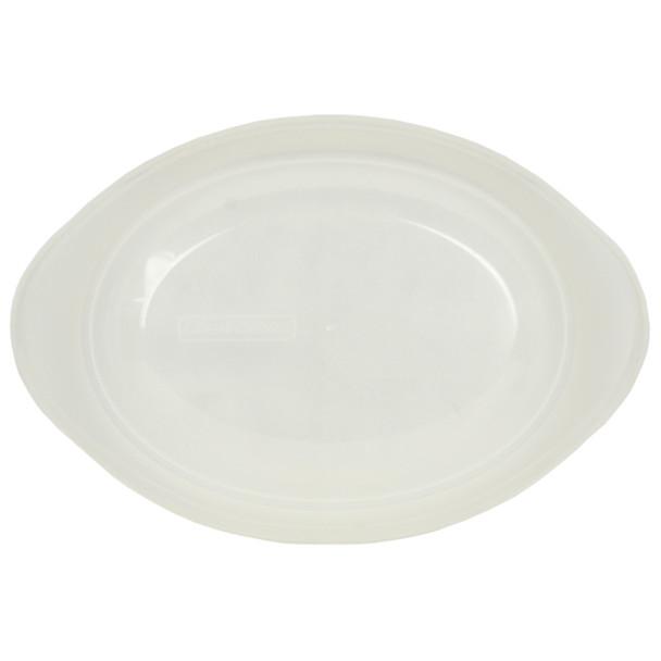 CorningWare 1.5qt Clear Oval Replacement Lid for French White Baking Dish