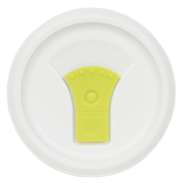 Corningware FM-22-VPC 20oz Light Green Round Soup Mug Pop-Ins Vented Lid
