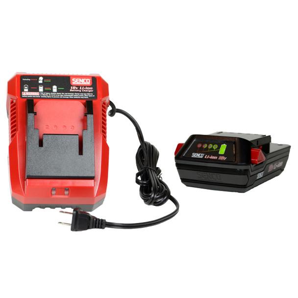 Senco VB0156 Rapid Charger and VB0155 18V Lithium-Ion Battery