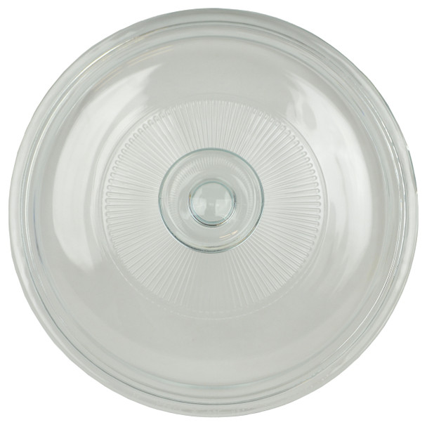Corningware V-1.5C Round Glass Lid Replacement for Stovetop 1.5L Casserole Dish