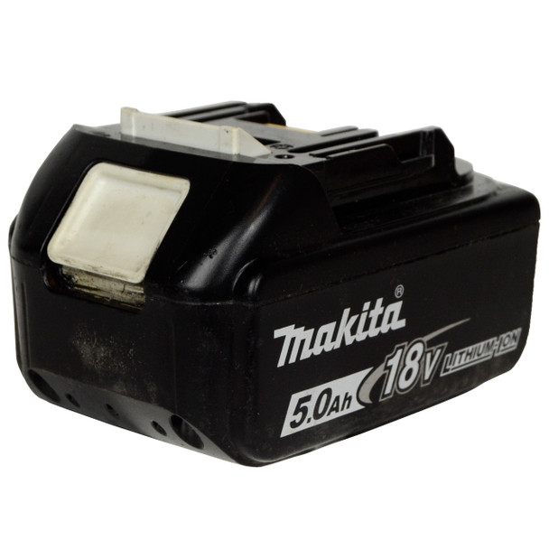 Makita Used BL1850B 18V 5.0Ah Lithium-Ion Battery Pack