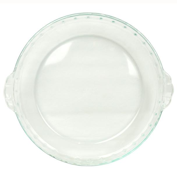 "Pyrex 1105393 Basics 9.5"" Round Glass Bakeware Pie Dish"