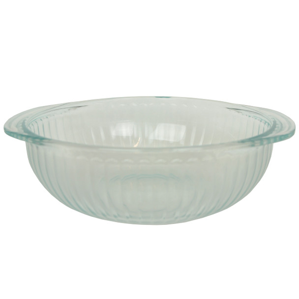 Pyrex 024 2qt/1.9L Sculpted Glass Mixing Bowl