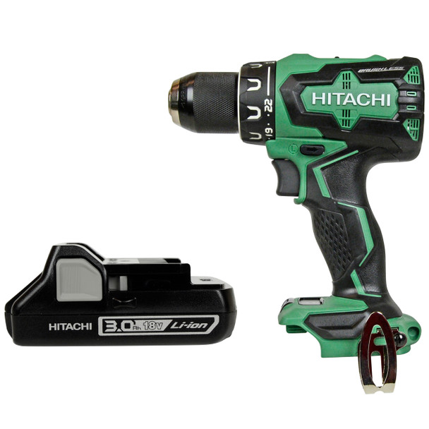 Metabo HPT/Hitachi DS18DBFL2 Brushless Drill Driver W/ (1) BSL1830C Battery