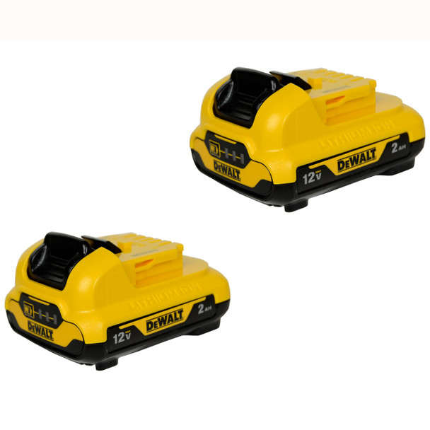 Dewalt DCB122 12V 2.0Ah Lithium-Ion Battery Pack (2-Pack)