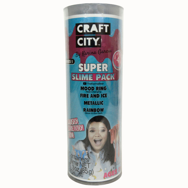 Craft City Super Slime Pack By Karina Garcia