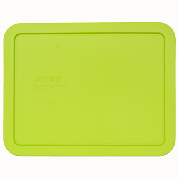 Pyrex 7211-PC 6 Cup Green Edamame Rectangle Replacement lid