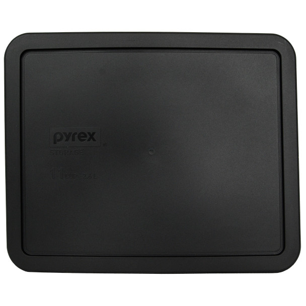 Pyrex 7212-PC 11 Cup Black Rectangle Replacement lid