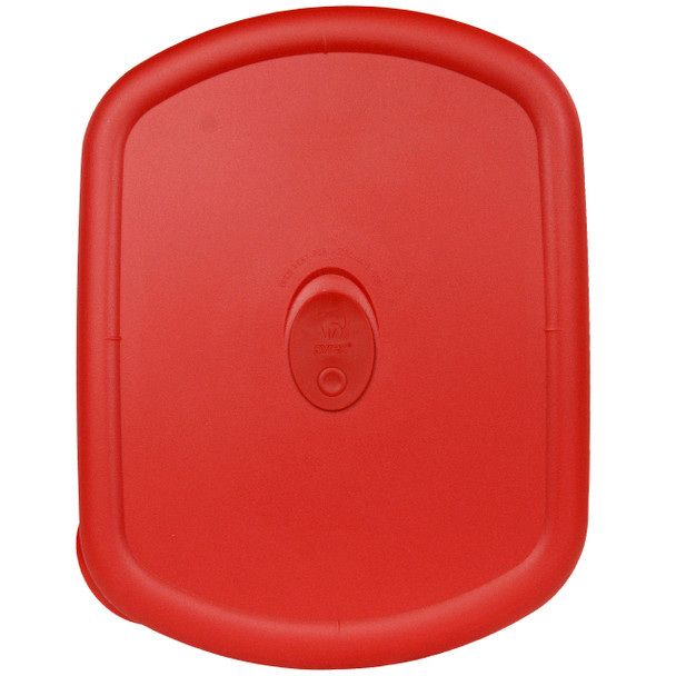 Pyrex  8212-VPC 3qt Poppy Red Oblong Vented Replacement Lid