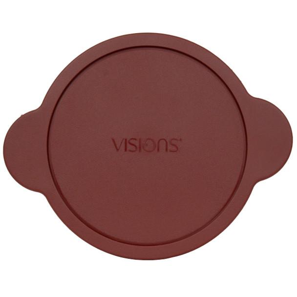 Visions CM 225-PC 2.25L Cranberry Red Plastic Replacement Lid