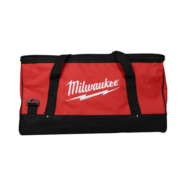 "Milwaukee 23"" x 12"" x 12"" Canvas Tool Tote Bag with Strap"