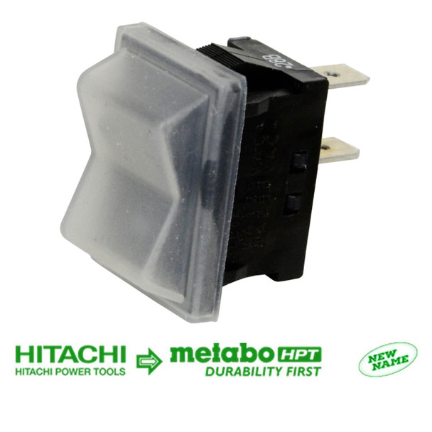 Metabo HPT/Hitachi 319503 319-503 Switch W/Cover for C10FSH2, C12RSH