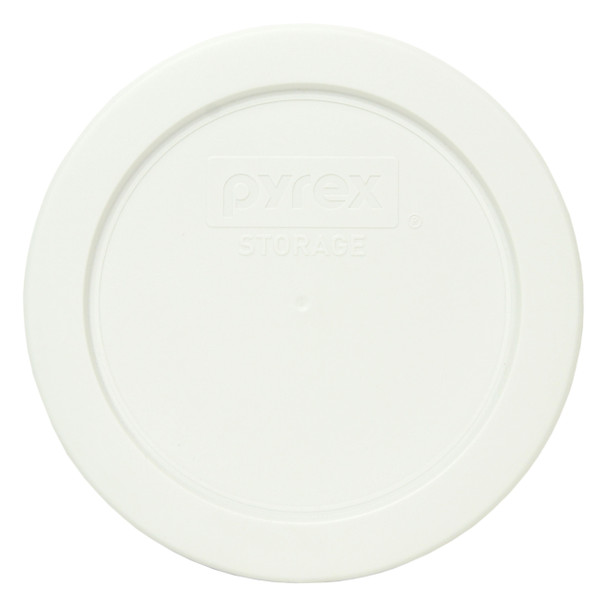 Pyrex 7200-PC White 2 Cup Round Plastic Replacement Lid