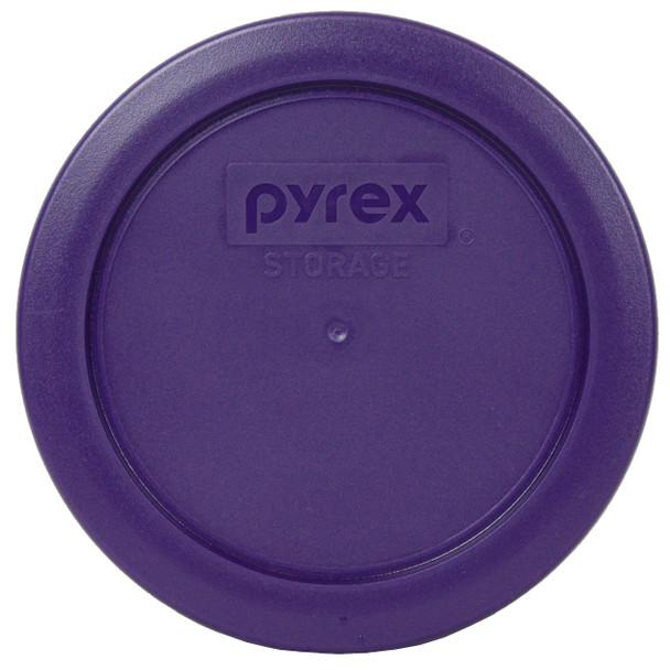 Pyrex 7200-PC Plum Purple Round Plastic Replacement Lid Cover