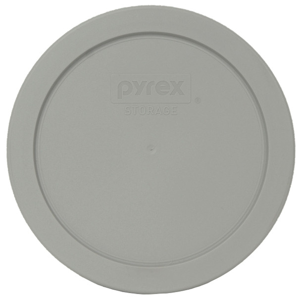 Pyrex 7201-PC Jet Gray Round Plastic Replacement Lid Cover