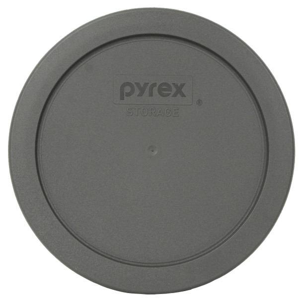 Pyrex 7201-PC Puddle Gray Round Plastic Replacement Lid Cover
