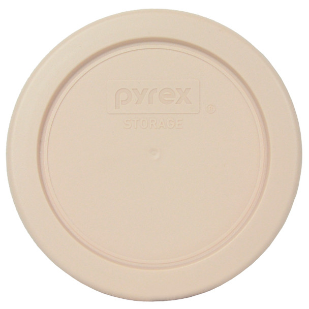 Pyrex 7202-PC Blush Colored Round Plastic Replacement Lid Cover