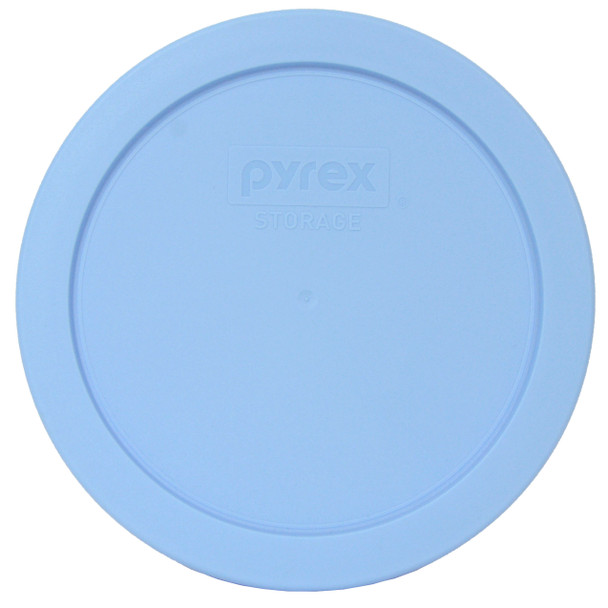 Pyrex 7201-PC Blue Cornflower Round Plastic Replacement Lid Cover
