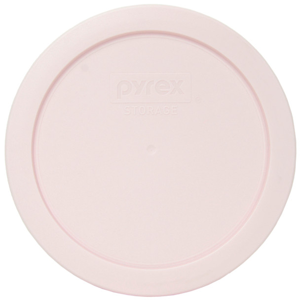 Pyrex 7201-PC Loring Pink Round Plastic Replacement Lid Cover