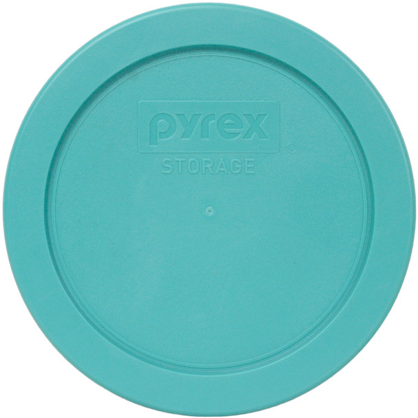 Pyrex 7200-PC Turquoise Round Plastic Replacement Lid Cover