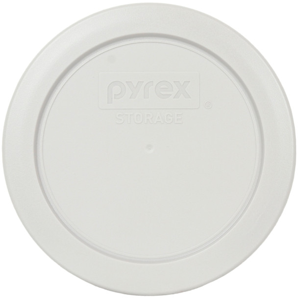 Pyrex 7200-PC Sleek Silver Round Plastic Replacement Lid Cover