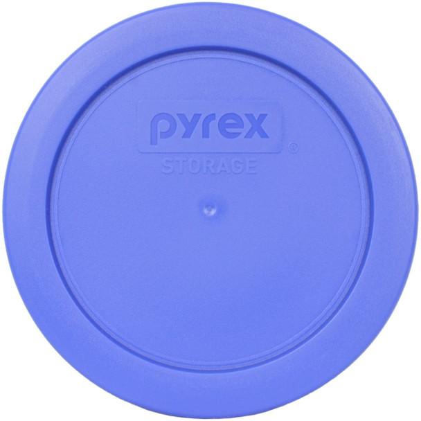 Pyrex 7200-PC Amparo Blue Round Plastic Replacement Lid Cover
