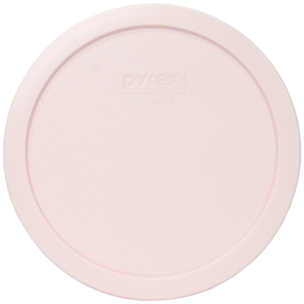 Pyrex 7402-PC Loring Pink Round Plastic Replacement Lid Cover