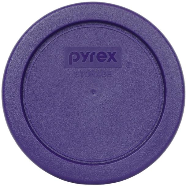 Pyrex 7202-PC Plum Purple Round Plastic Replacement Lid Cover