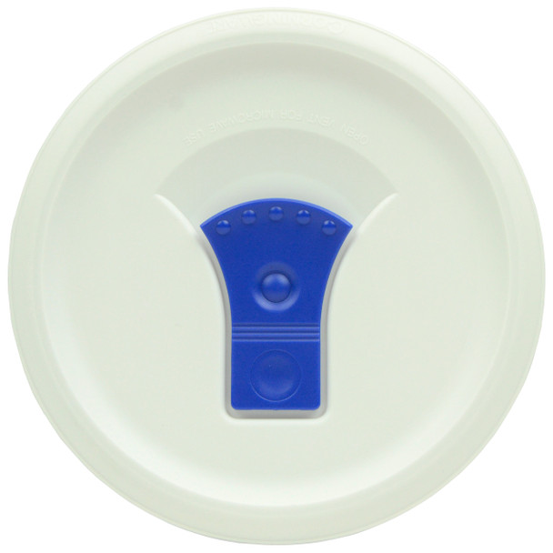 Corningware  FW16 Round Vented Replacement Lid Cover with Blue Tab for 16oz Casserole Dish