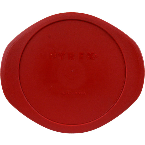Pyrex 024-PC Poppy Red Plastic Food Storage Replacement Lid Cover