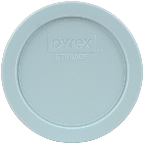 Pyrex 7200-PC Muddy Aqua Round Plastic Replacement Lid Cover
