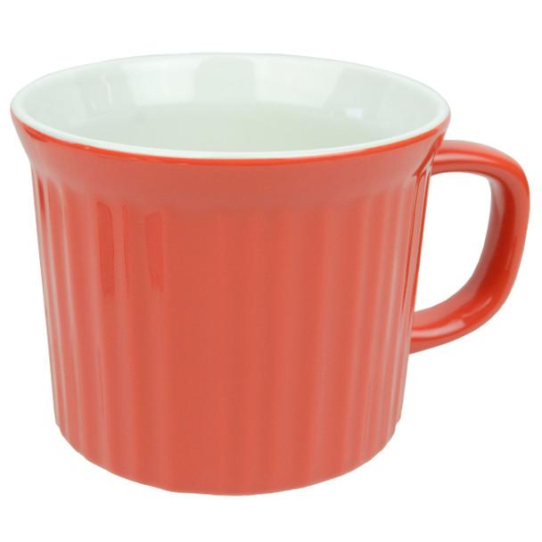 Corningware FM-22 20oz Vermilion Red Round Soup Meal Mug