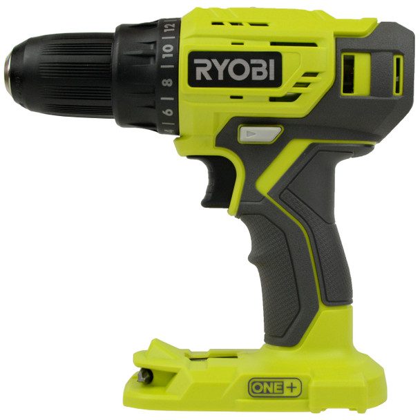 Ryobi P215 18V One+ 1/2in. Li-Ion Drill Driver, Tool Only