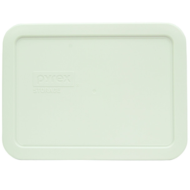 Pyrex 7210-PC White Food Storage Rectangle Replacement Lid Cover