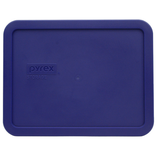 Pyrex 7211-PC Navy Blue Rectangle Food Storage Replacement lid Cover