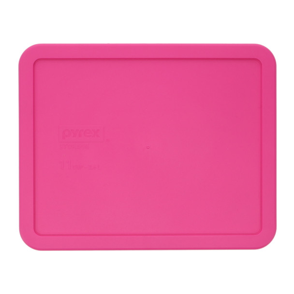 Pyrex 7212-PC Pink Rectangle Food Storage Replacement lid Cover