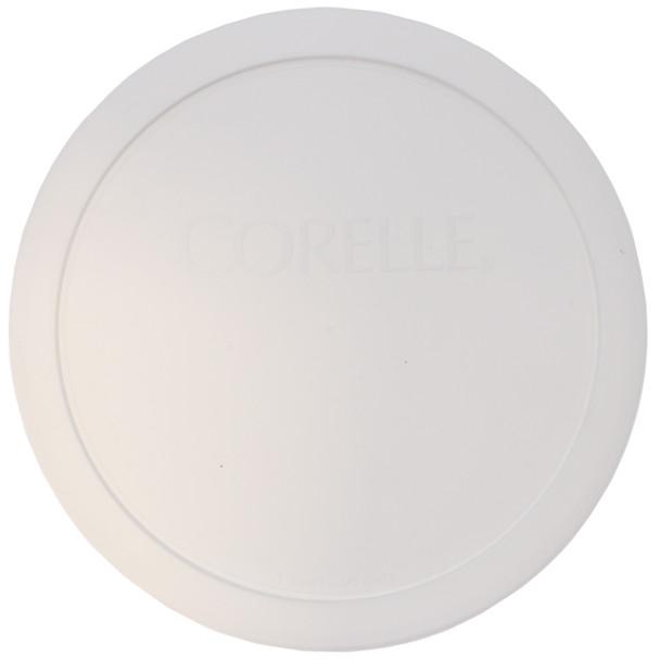 Corelle 323-PC White 1qt and 1.5qt Round Plastic Food Storage Replacement Lid
