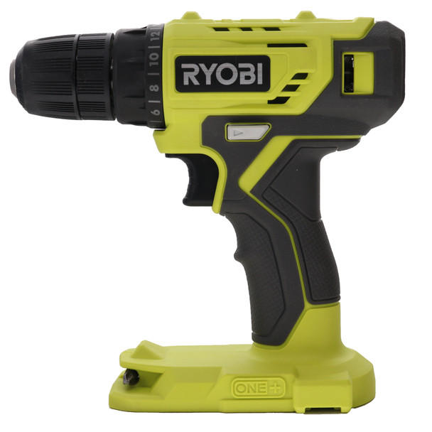 Ryobi P209DCN 18V One+ 3/8 in Lithium-Ion Cordless Drill Driver, Tool Only