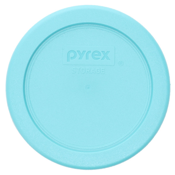 Pyrex 7202-PC Turquoise Round Plastic Food Storage Replacement Lid Cover