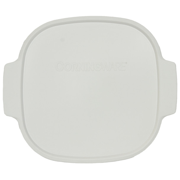 Corningware A-12-PC White Food Storage Replacement Lid with Handles