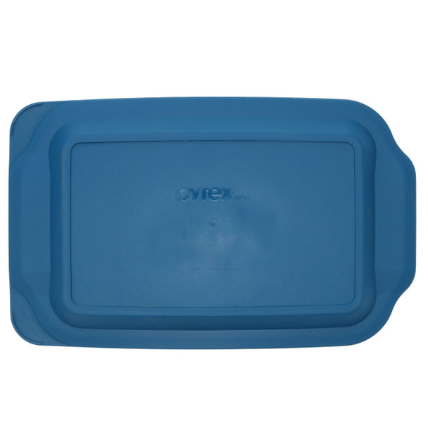 Pyrex 232-PC Blue Spruce Rectangle Food Storage Replacement Lid Cover