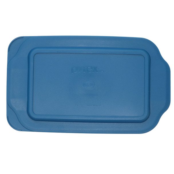 Pyrex 233-PC Blue Spruce Rectangle Plastic Food Storage Replacement Lid
