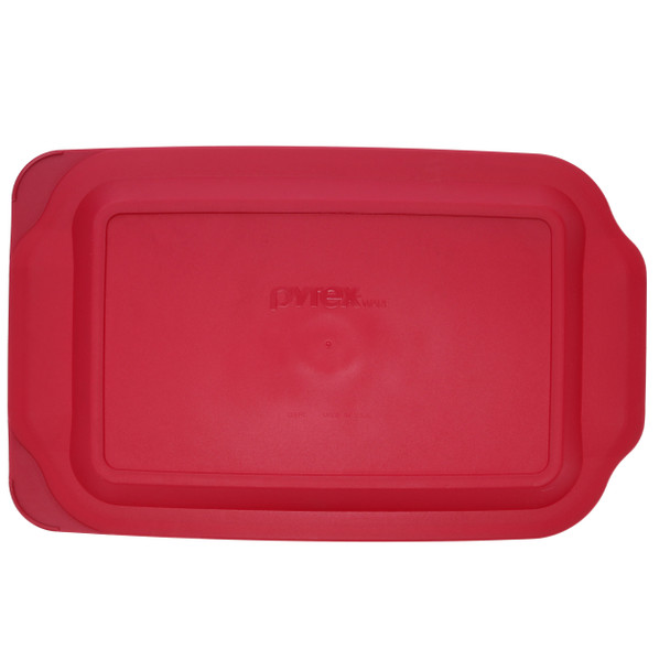 Pyrex 232-PC Sangria Red Rectangle Food Storage Replacement Lid Cover